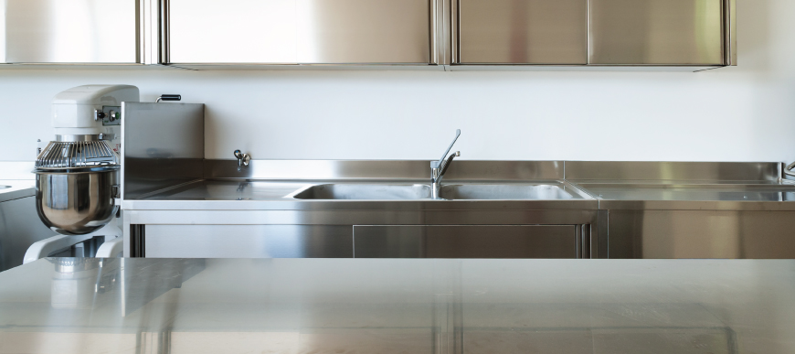 Stainless Steel Benches Sinks Ranges Hoods & Electrical Equipment